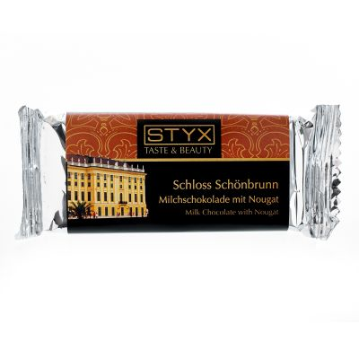 Schloss Schönbrunn (BIO-Milchschokolade gefüllt mit 70% Nougat-Ganache) 70g