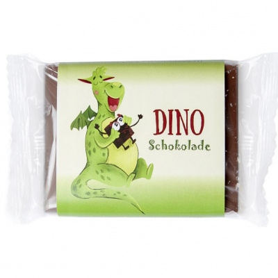 BIO-Kinderschokolade Dino 50g