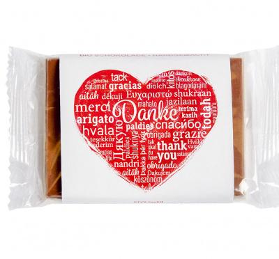 BIO Weiße Schokolade mit Vollmilchkuvertüre
