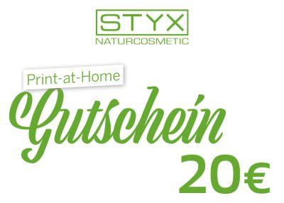 STYX Online Gutschein 20 Euro