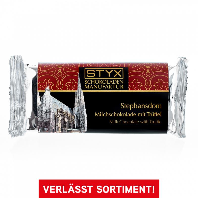 Wiener Stephansdom (Trüffel in Milchschokolade) 70g