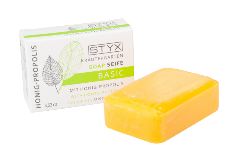 Kräutergarten BASIC Soap with honey-propolis 100g