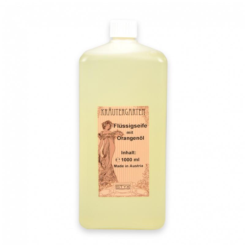 Flüssigseife mit Orangenöl 1000ml