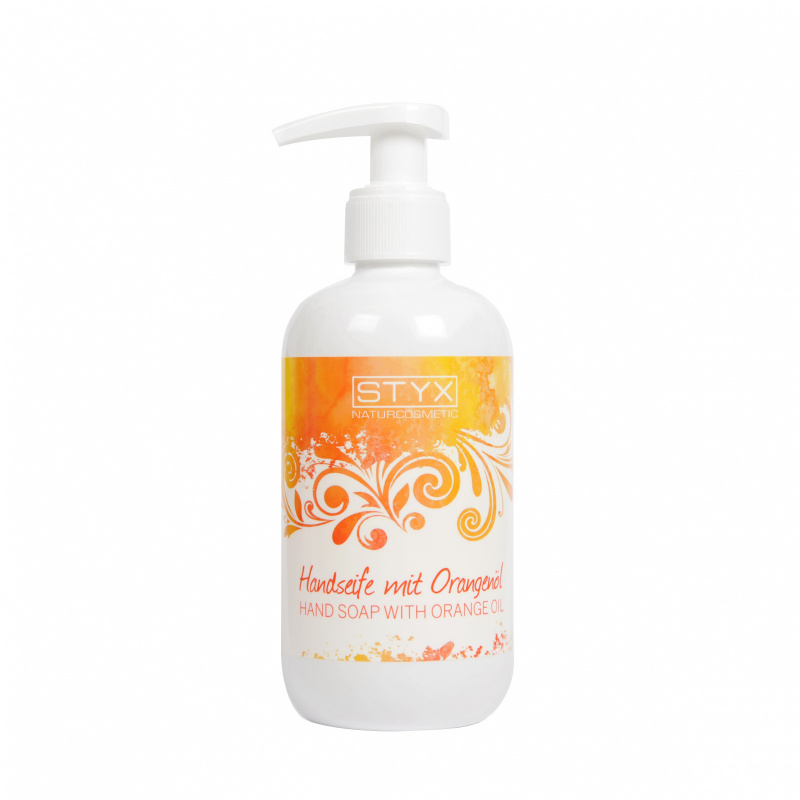 Hand Soap with Orange oil 250ml