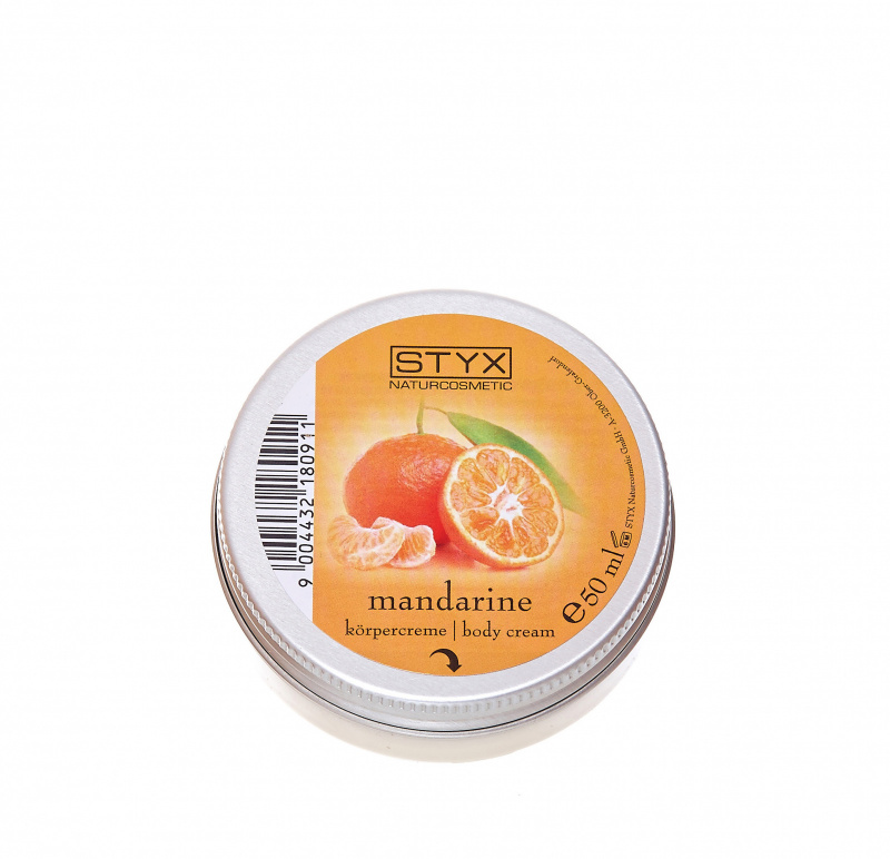 Tangerine Body Cream 50ml
