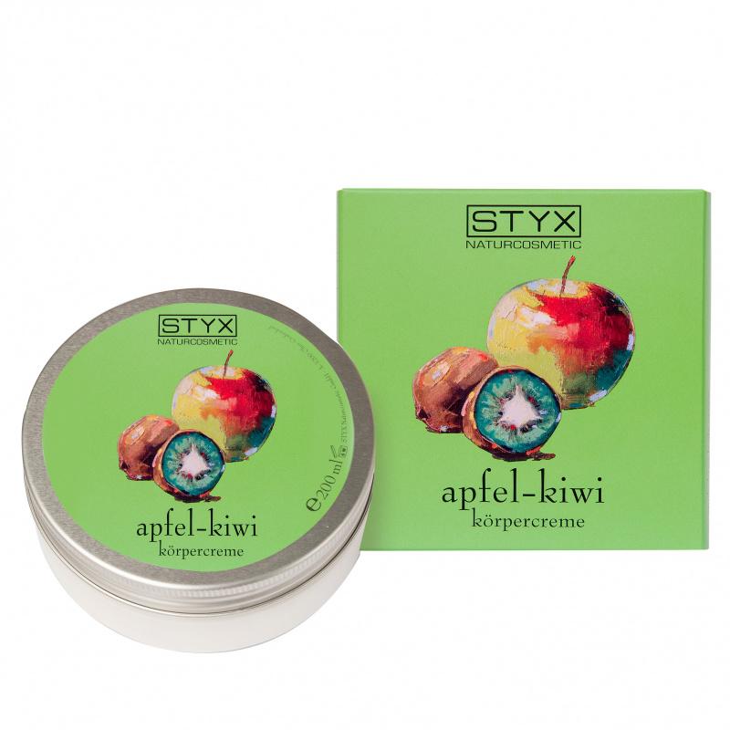 Apfel Kiwi Körpercreme 200ml