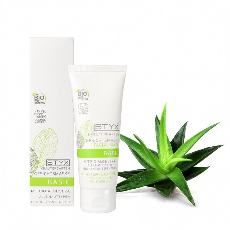 Kräutergarten BASIC Gesichtsmaske mit Bio-Aloe Vera 70 ml