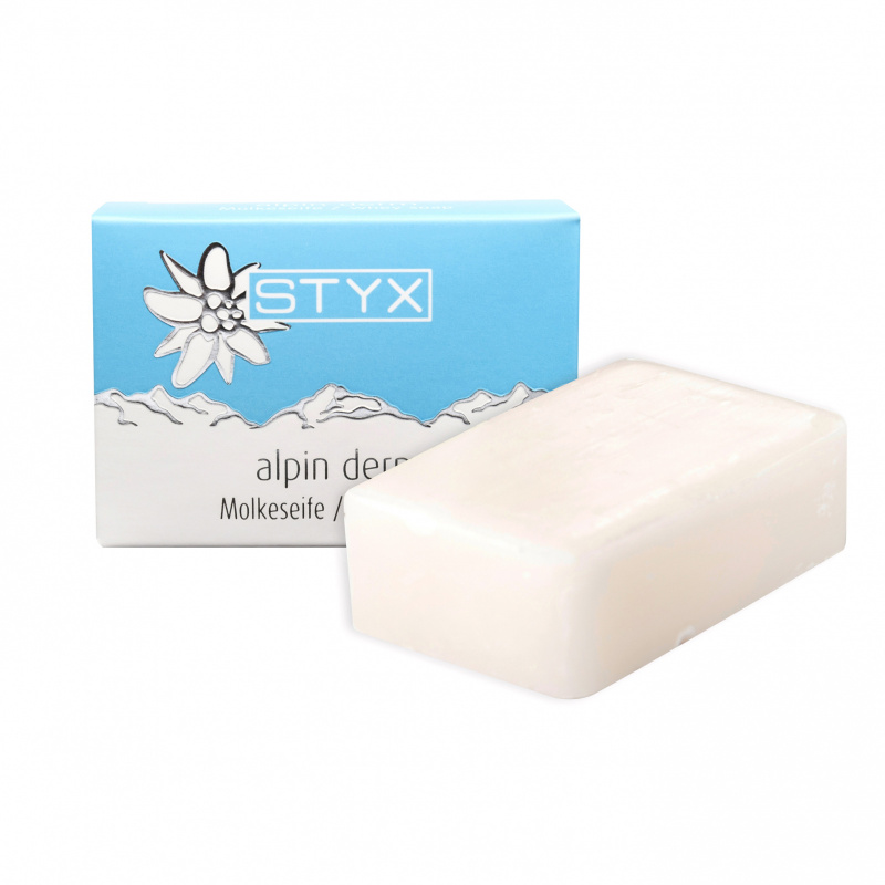 Alpin Derm Whey Soap with edelweiss 100g