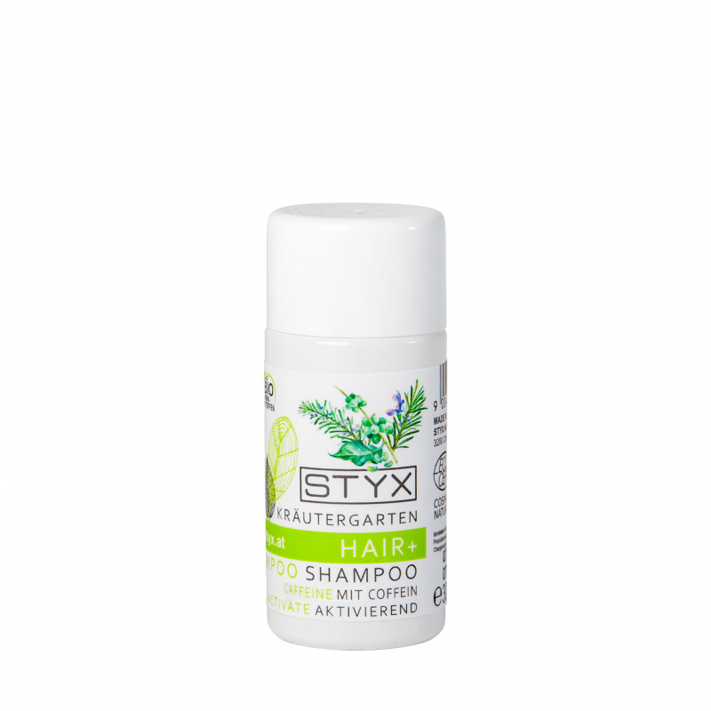 Kräutergarten HAIR+ Shampoo with organic caffeine 30ml