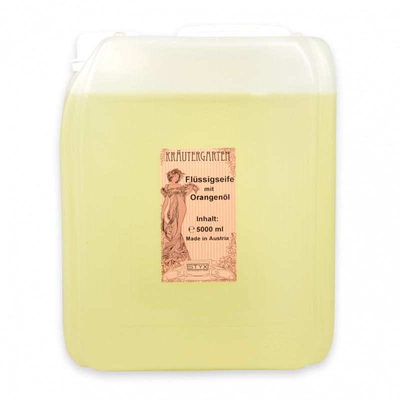 Fluid Soap with Orange Oil 5000ml