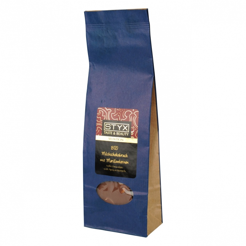 Roasted Apricot Kernels with Milk Chocolate 150g