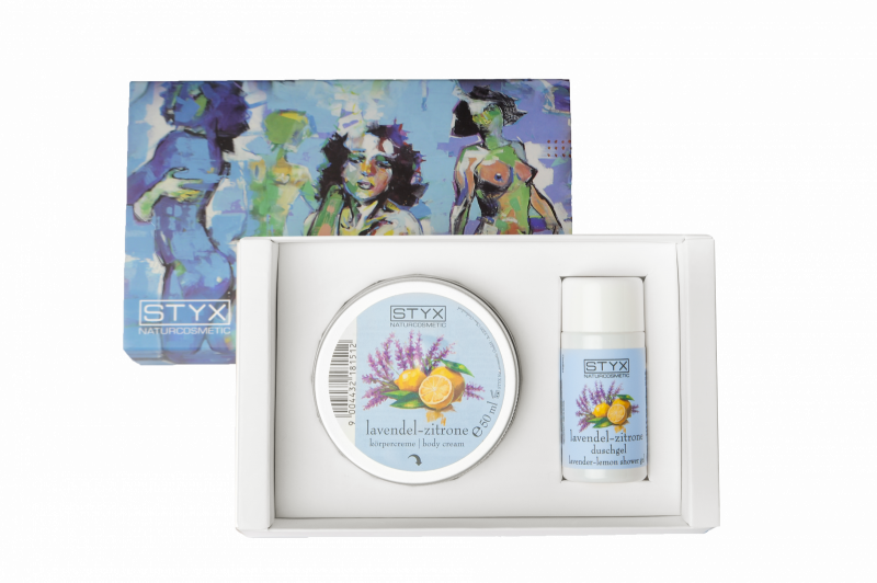 Kennenlernset Lavendel-Zitrone Kunst der Körperpflege