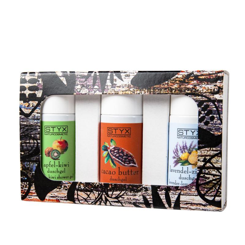 Kennenlernset Duschgel 3x30ml 2018 (Cacao, Apfel, Lavendel)