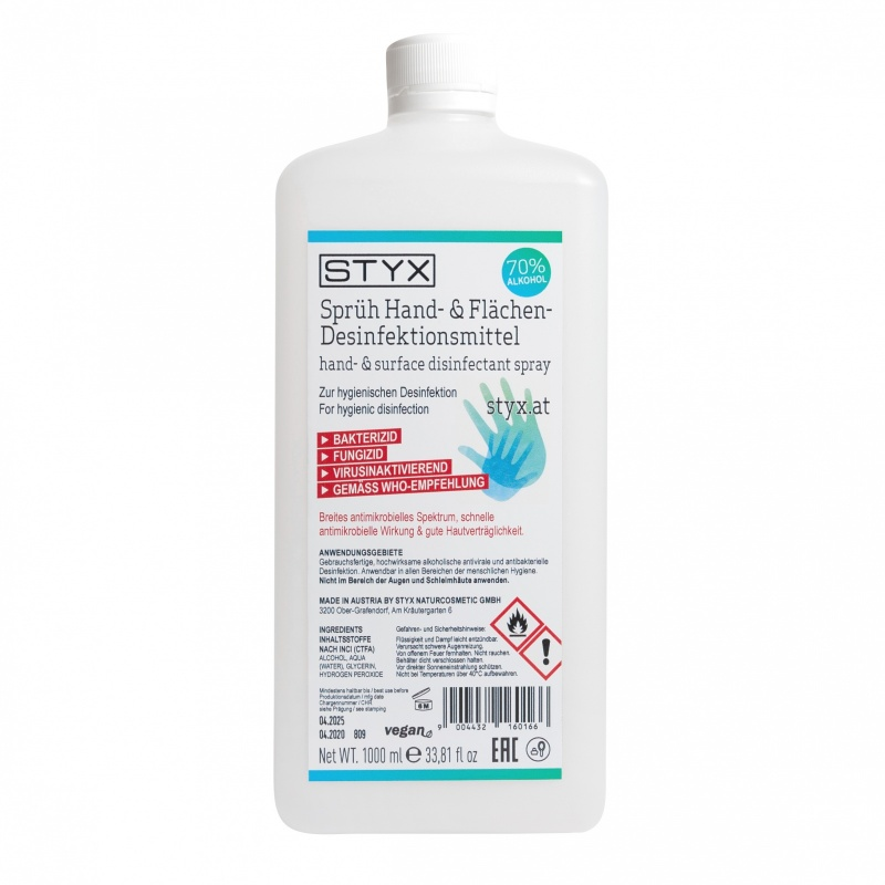STYX hand disinfection 1000ml