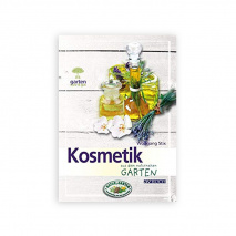 Book Cosmetic from the nature garden German language