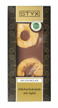Milk Chocolate with Apple 100g