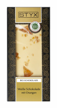 White Chocolate with Orange 100g