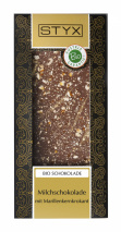 Milk Chocolate with Apricot brittle 100g