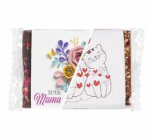 BIO-Edelbitterschokolade mit Rosenblüten Alles Liebe zum Muttertag