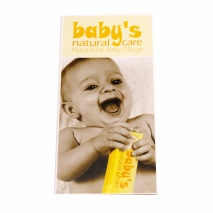 Folder Baby´s Natural Care (engl.+ german)