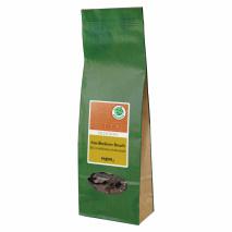 BIO Edelbitterschokoladenbruch mit gerösteten Marillenkernen 150g