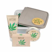 hemp set in sugarcane box