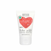 poppy hand cream 30ml - heart and thank you edition